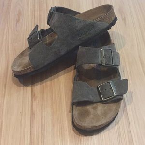Suede soft footbed Arizona Birkenstock